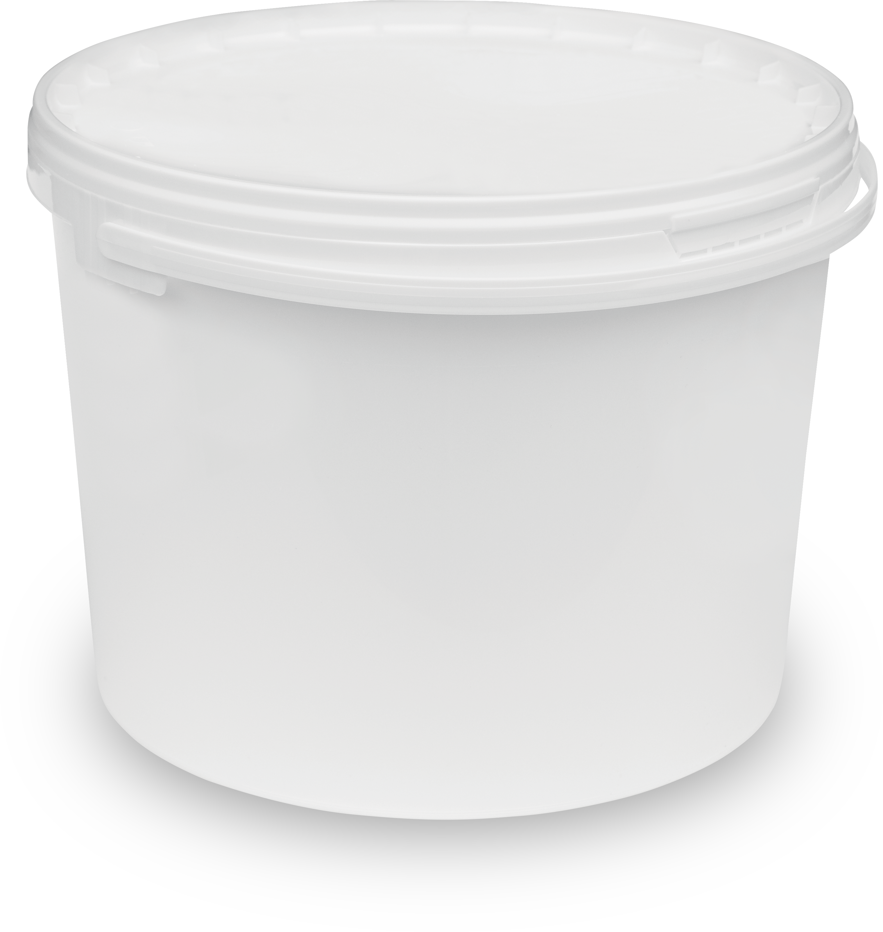 Round bucket with single rim 11-1000 BIS2