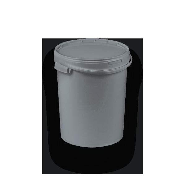 Wiadro okrągłe jednoobrzeżowe 11-2500 BIS 25 l