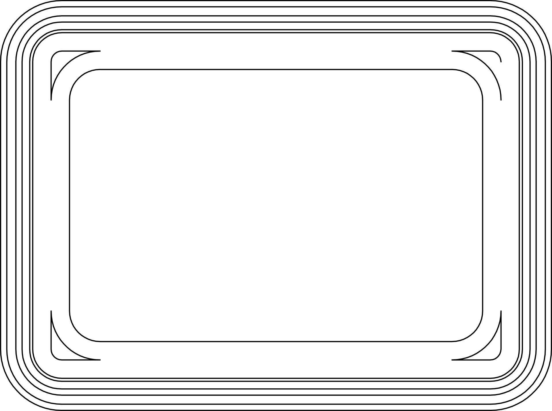 Pojemnik gładki 1l PS (0,7)