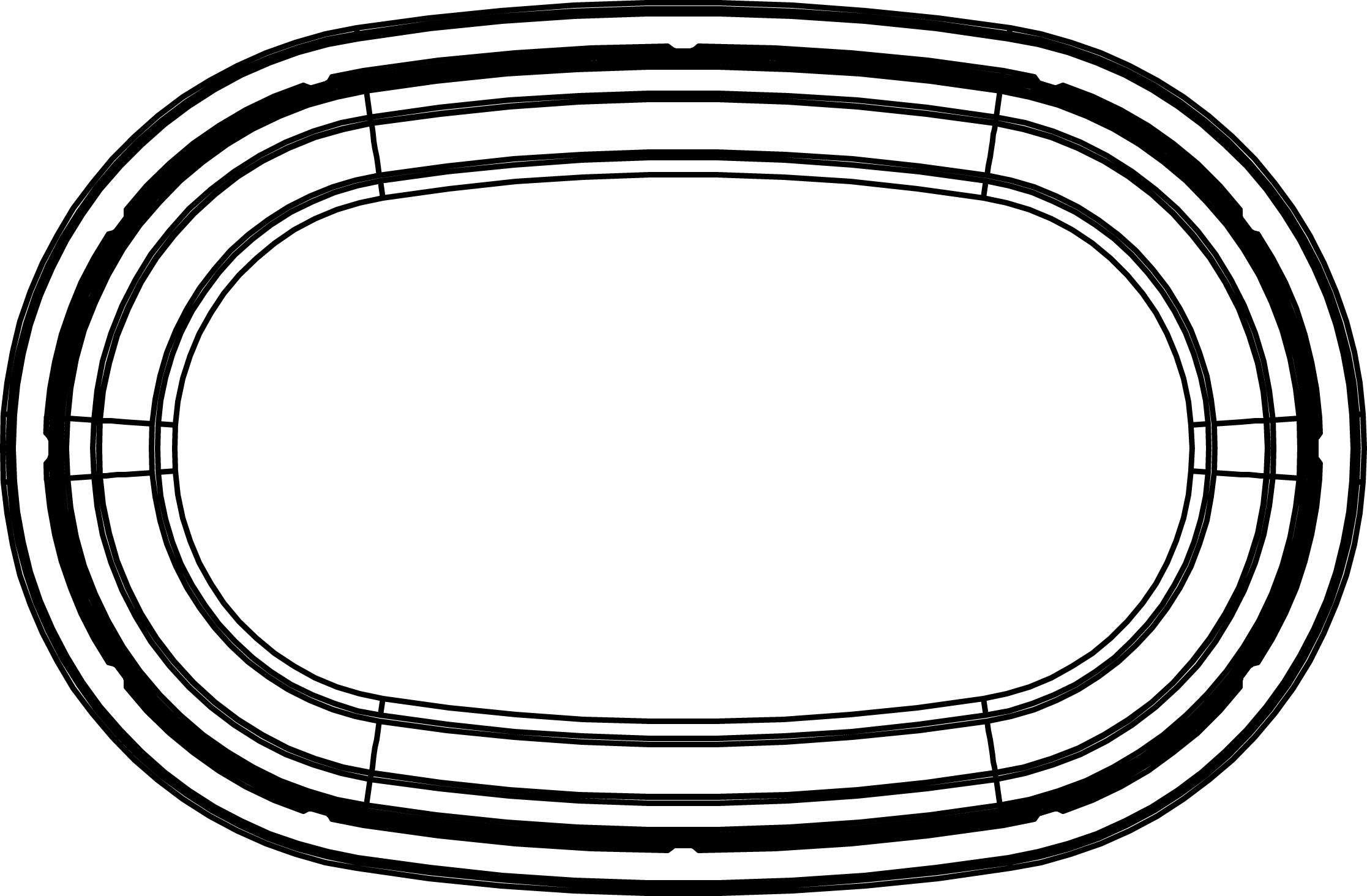 Kubek PP owalny 135g