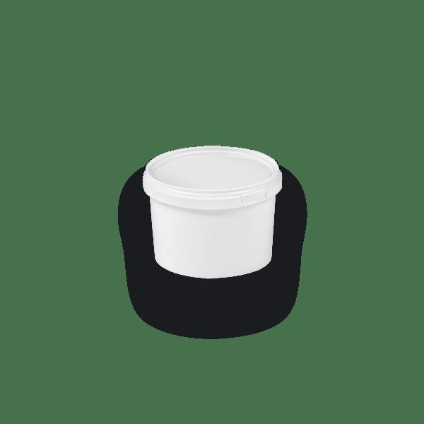 11-0055 BIS2 Round bucket with single rim 0.55 L
