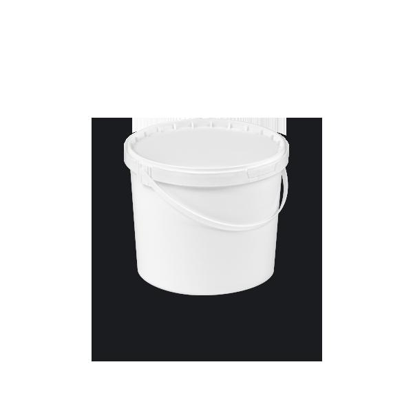 11-0500 CS3 Round bucket with double rim 5 L