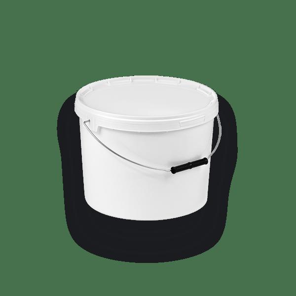 11-1000 BIS5 Round bucket with single rim 10 L
