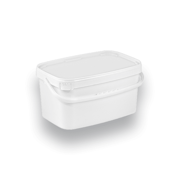 11-1000 PB Rectangular bucket  10 L