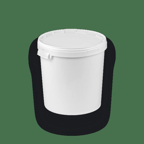 11-3300 BIS Round bucket with single rim 33 L